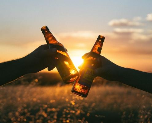Beer. Holidays. Mallorca.
