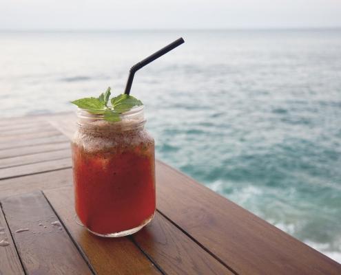 Frutas. Mar. Costa. Saludable. Comida real.