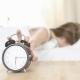 sleepy woman alarm clock - samsara healthy holidays
